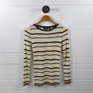 THEORY STRIPED TOP #138-68